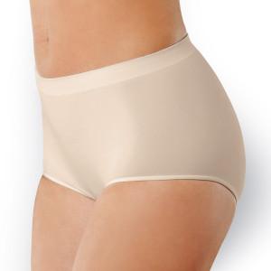 Kalhotky s vyšším pasem bezešvé Culotte - Intimidea bílá