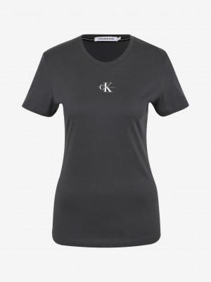 Micro Monogram Triko Calvin Klein Černá