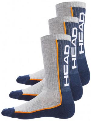 3PACK ponožky HEAD vícebarevné (791011001 870) 35-38