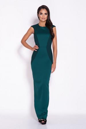 Dlouhé šaty Miron 126993 - Dursi zelená