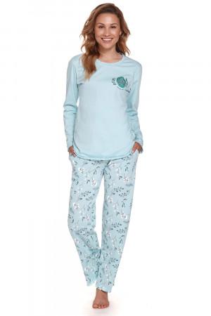 Dámské pyžamo Doctor Nap PMT.4354 pool blue l