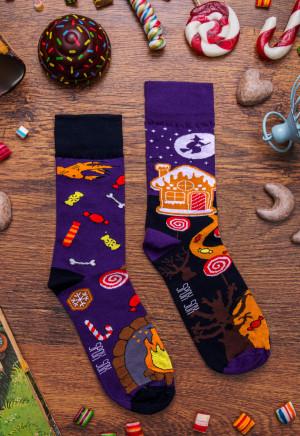 Unisex ponožky Spox Sox Jeníček a Mařenka multikolor 40-43