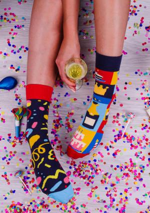 Unisex ponožky Spox Sox Party multikolor 36-39