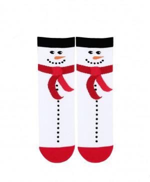 Sváteční vánoční dámské ponožky Wola W84.155 růžová/lurex 39-41