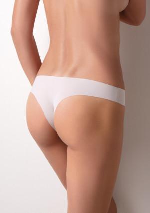 Kalhotky brazilky Cotonella 8141 L Bílá