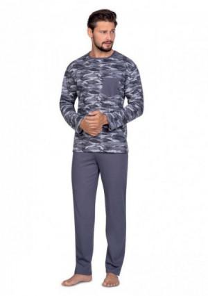 Regina 596 Pánské pyžamo L modrá