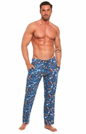 Cornette 691/33 655301 Pánské pyžamové kalhoty S jeans