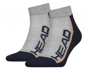 2PACK ponožky HEAD vícebarevné (791019001 870) 35-38