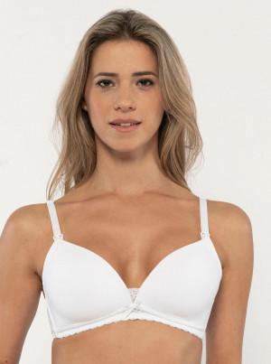 Bílá kojicí podprsenka Dorina May -