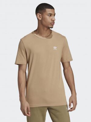 Essential Triko adidas Originals Hnědá