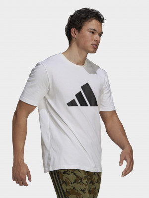 Sportswear Future Icons Logo Graphic Triko adidas Performance Bílá