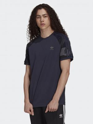 Camo Cali Triko adidas Originals Modrá