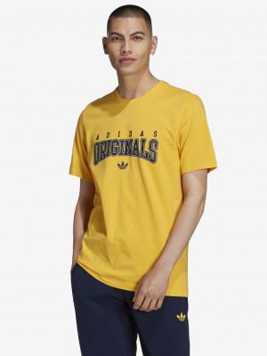 Script Triko adidas Originals Žlutá