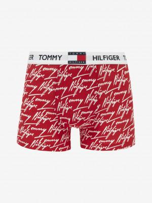 Boxerky Tommy Hilfiger Červená