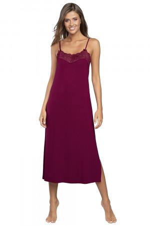 Dámská noční košile Aida - Italian Fashion vínová