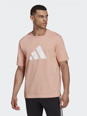 Future Icons Logo Triko adidas Performance Růžová
