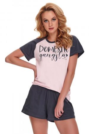 Dámské pyžamo Dn-nightwear PM.9945 pink xl