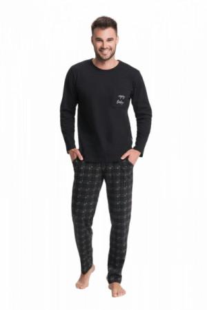 Luna 705 Pánské pyžamo XXL bordová
