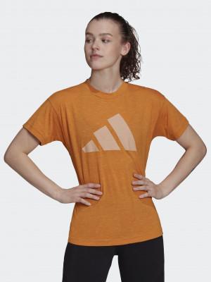 Win 2.0 Triko adidas Performance Oranžová