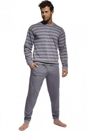 Cornette 117/160 Losse 9 Pánské pyžamo S grafitová