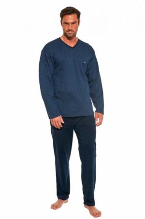 Cornette 310/189 Bill Pánské pyžamo M tmavě modrá