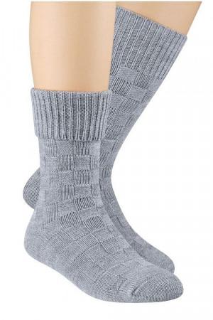 Vlněné ponožky Steven art.093 bez 38-40