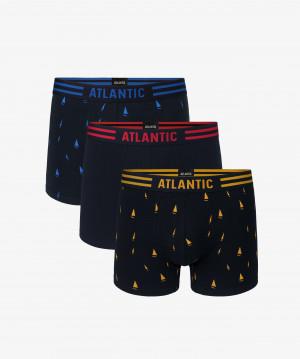Pánské boxerky Atlantic 3MH-021 A'3 czarny