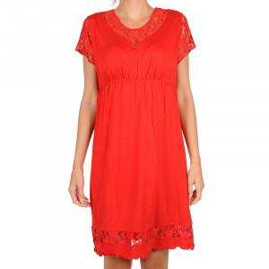 Dámská noční košile Cocoon Secret červené (COC5014-KG)