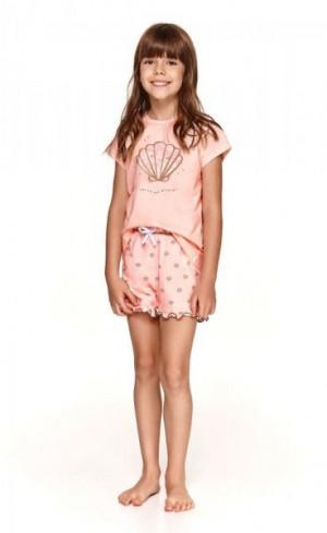 Taro Klara 2388 104-116 Dívčí pyžamo 116 broskvová