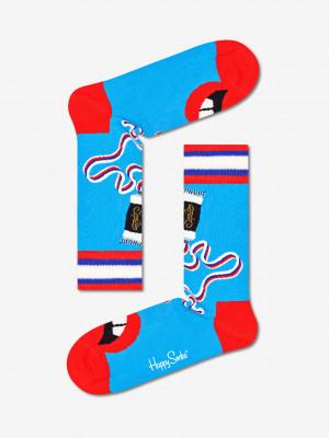Brush Brush Ponožky Happy Socks Modrá