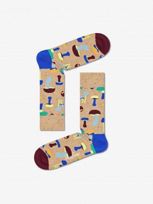 Mushroom Ponožky Happy Socks Béžová