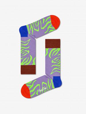 Tiger Rave Ponožky Happy Socks Barevná