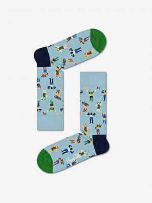Work It Ponožky Happy Socks Modrá