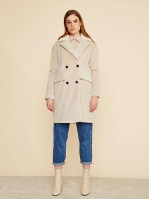 ZOOT béžový zimní kabát Stephany