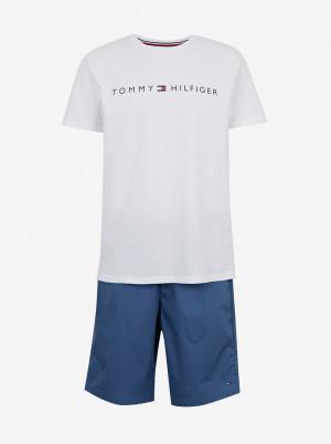 Tommy Hilfiger modro-bílé pánské pyžamo