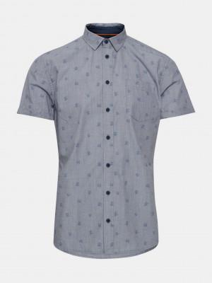 Košile Blend Modrá