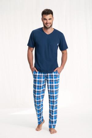 Pánské pyžamo 778 3XL GRANATOWY 3XL