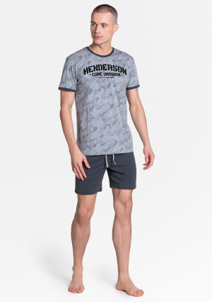 Pánské pyžamo Henderson 38877 Load kr/r M-2XL