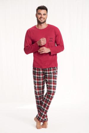 Pánské pyžamo 705 BORDOWY