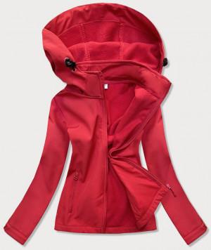 Červená dámská trekingová bunda-mikina (HH018-5) czerwony S (36)