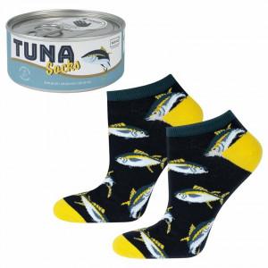 Pánské ponožky SOXO GOOD STUFF Tuňák v konzervě GRANATOWY 40–45