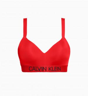 Vrchní díl plavek KW0KW00919-XBG červená - Calvin Klein červená