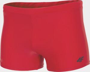 Pánské plavky 4F MAJM300 Červené Červená