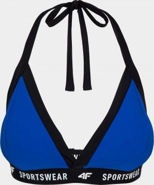 Vrchní část dámských plavek 4F KOS004G Modré Modrá
