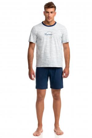 Pánské pyžamo 14805 - Vamp modrá