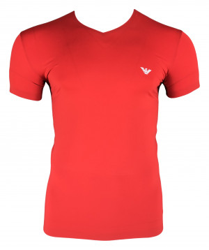 Pánské tričko 111845 9P531 00074 červená - Emporio Armani červená