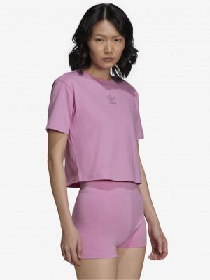 2000 Luxe Crop top adidas Originals Růžová