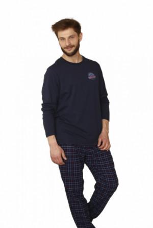 Key MNS 745 B21 Pánské pyžamo XL tmavě modrá
