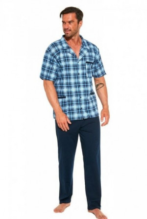Cornette 318/44 Pánské pyžamo XL modrá