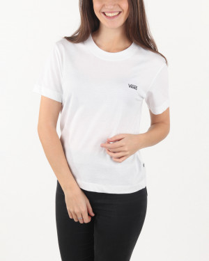 Vans bílé tričko Junior V
